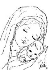 Madonna Maria Disegno Cerca Con Google Madonne Arte E Navidad