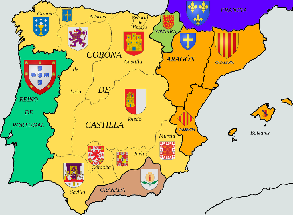 España Mini Pecha Kucha Pinterest DeviantART History And Spain - Spain historical map