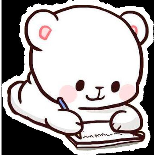 Pin By Randy Boyer On Milk And Mocha Cute Bear Drawings Cute Cartoon Wallpapers Cute Doodles