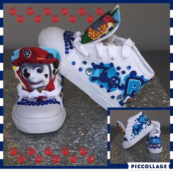 Paw Patrol Inspired SneakersPP ChasePaw