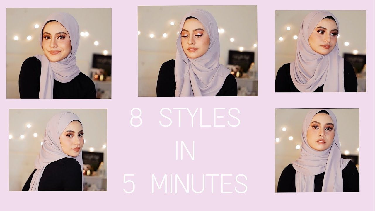 8 Simple Ways To Style A Shawl In 5 Minutes Only Simple Hijab Tutorial Hijab Tutorial Hijab Style Tutorial