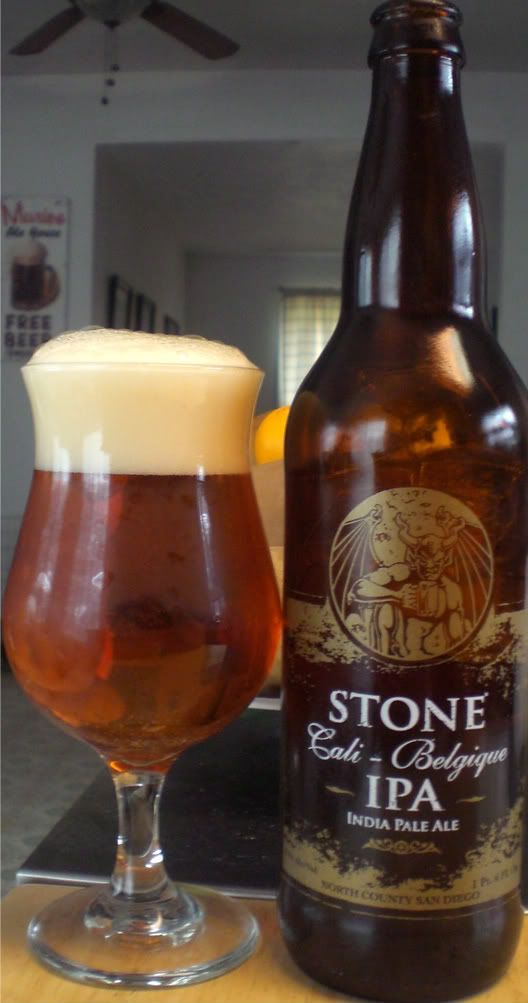Stone Cali-Belgique: It is Belgique season. Let the beer gods be praised.
