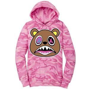 f03a4cf7af6 Baws Hoodie Crazy Baws Pink Camo Sneaker Hoodie