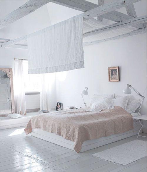 Houten vloer wit schilderen - Slaapkamers | Pinterest - Slaapkamer ...