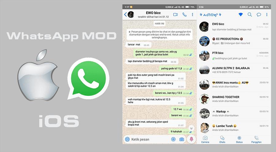 Aplikasi Whatsapp Fouad Mods
