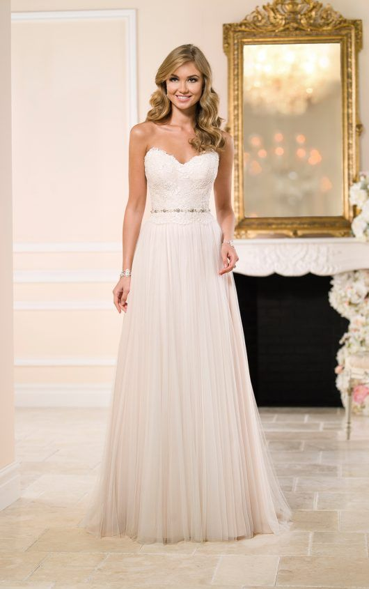 6025 Perfect Beach Wedding Dress By Stella York