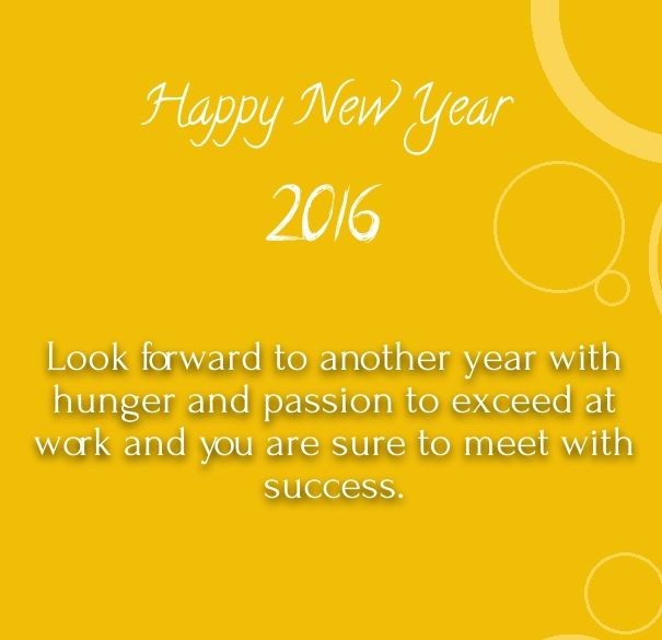 happy new year 2016 wishes for colleagues and boss