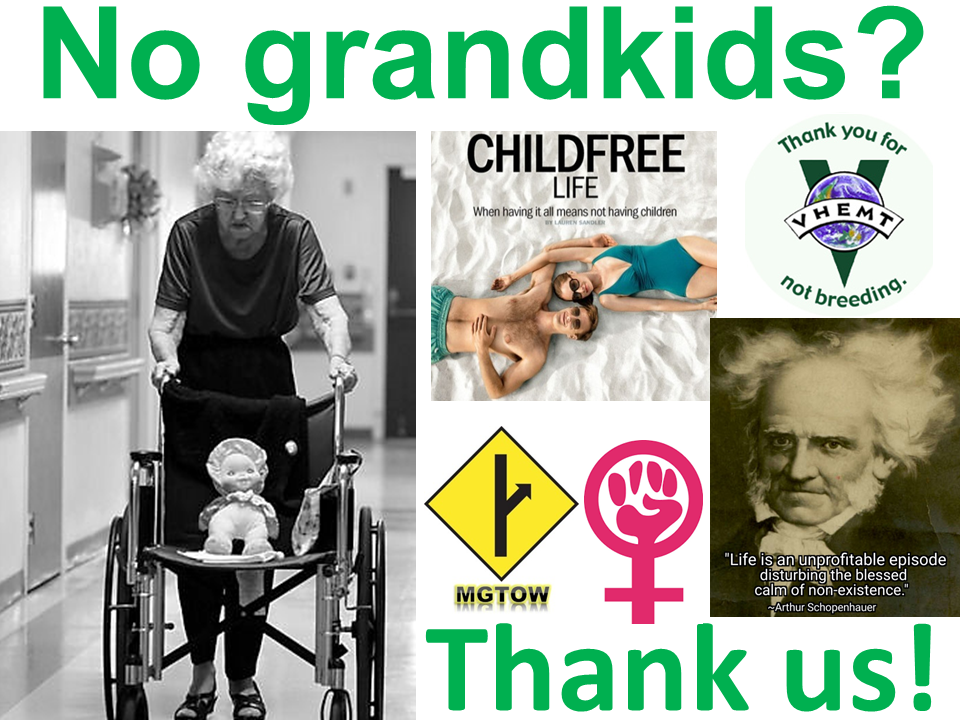No grandkids? Thank ideologies that convince people to become biological failures.