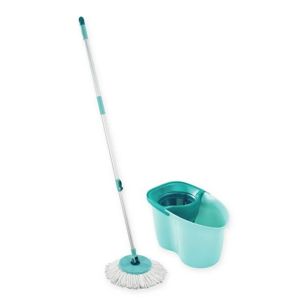 Leifheit Clean Twist Disc Mop Active Set Microfiber Mops Cleaning Equipment Cleaning