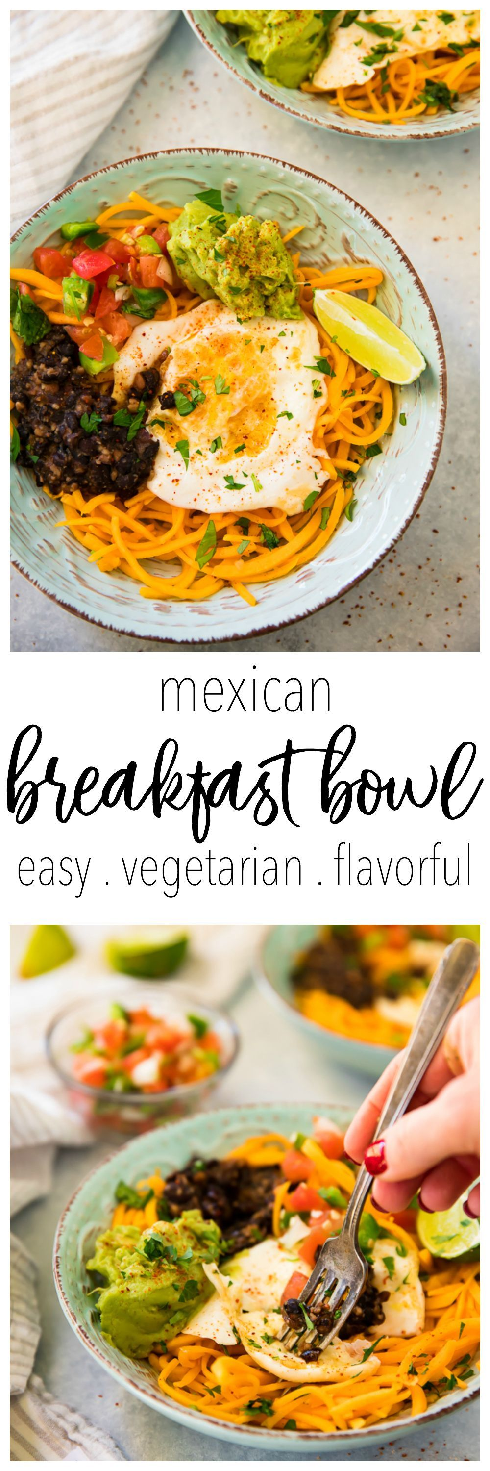 Easy mexican breakfast bowls with all the goods so