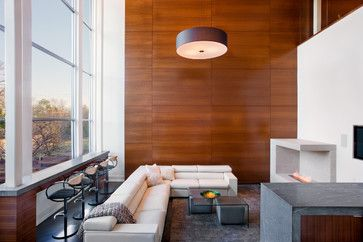 Stylish Updates For Wood Paneling That Make It A Desirable Home Design Element Modern Wall Paneling Luxury Living Room Wood Panel Walls