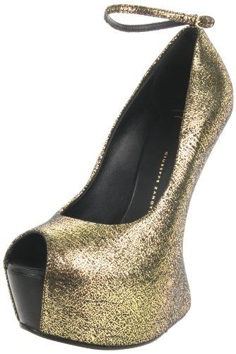 41240148eb5 Amazon.com  Giuseppe Zanotti Women s I26125 Wedge Pump  Shoes ...