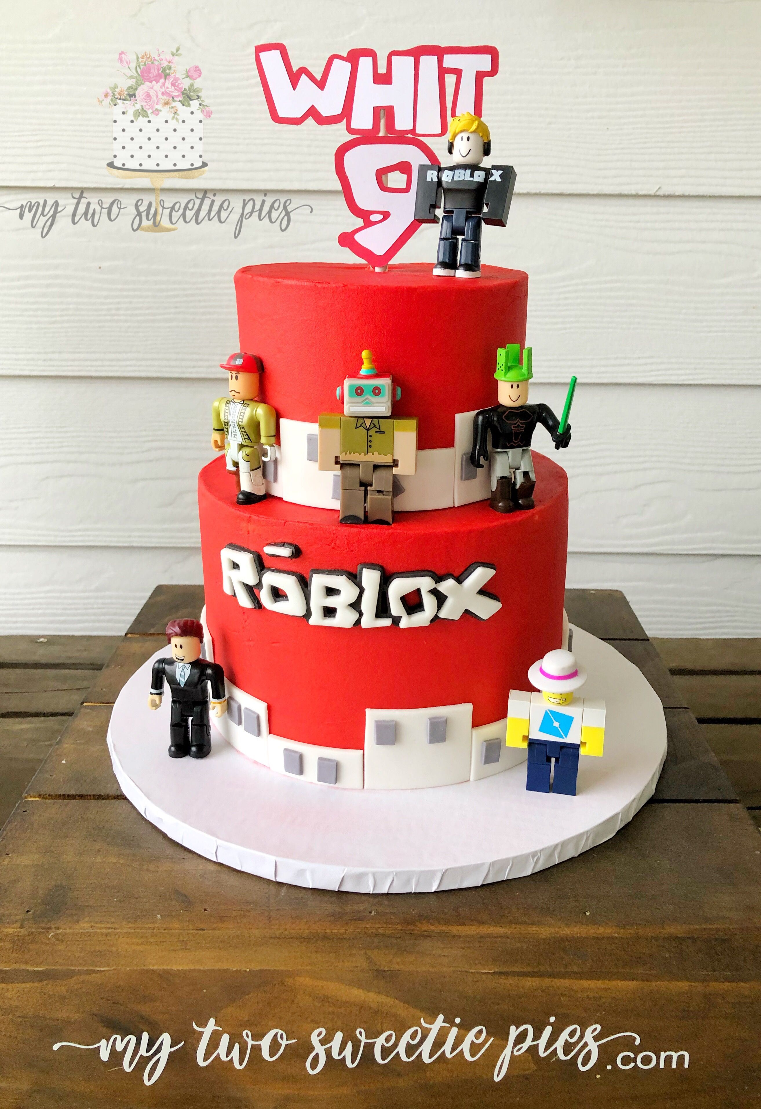 Roblox Birthday Roblox Birthday Cake Roblox Cake Boy Birthday Cake