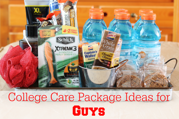 College Care Package Ideas For Guys Bloggers Fun Family Projects