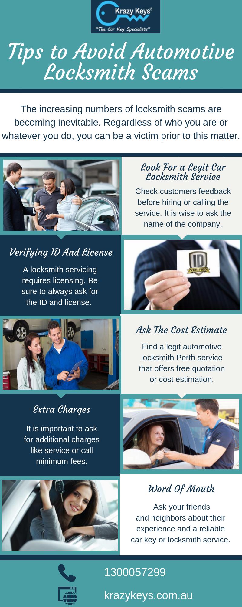 5 Tips to Avoid Automotive Locksmith Scams Automotive
