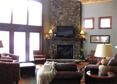 Peak2 Cabin Terry Peak Black Hills South Dakota Great Room