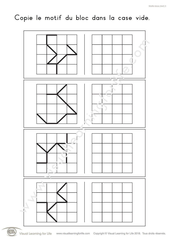 Motifs Bloc 4x4 In