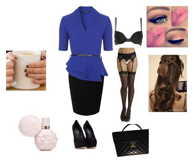 """""""Business"""" by chelseagon on Polyvore featuring Jacques Vert, Versace and Giuseppe Zanotti"""