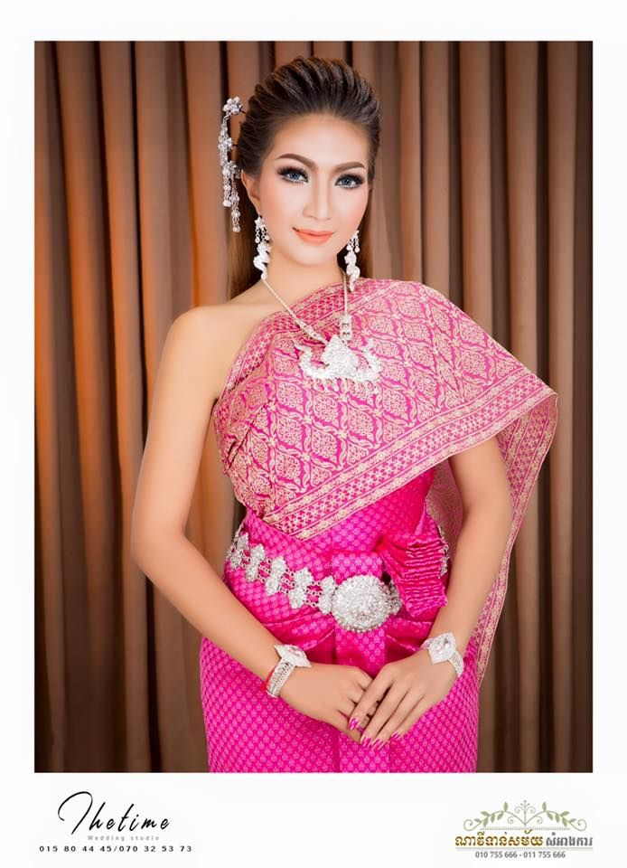 khmer wedding costume | Thai clothes and costumes | Pinterest