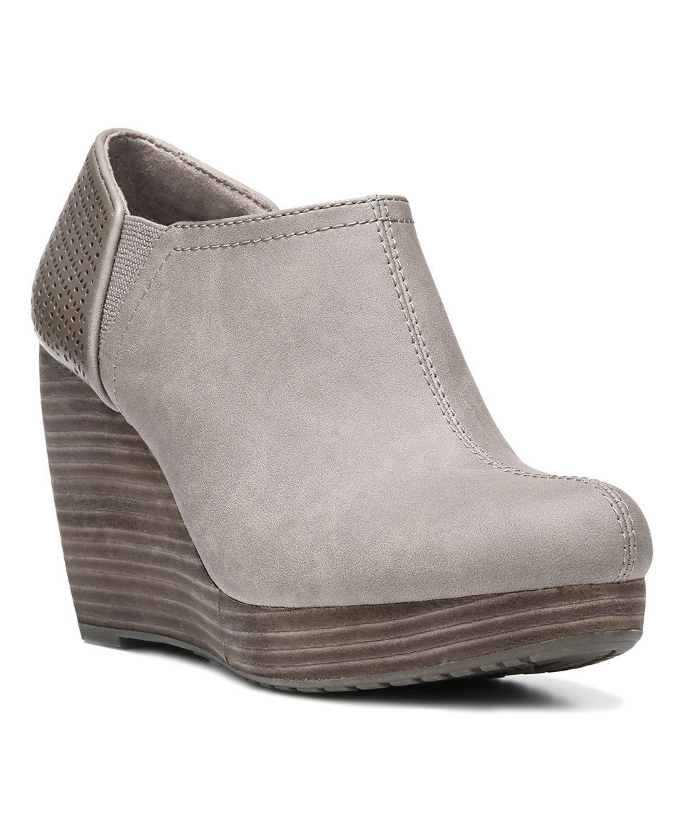 a91fd14df9eb Look what I found on  zulily! Taupe Corrina Harlow Bootie by Dr ...
