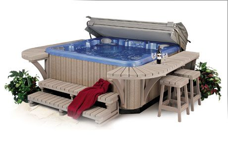 hot tub surround Central Jersey Pools l Freehold NJ 07728 Hot