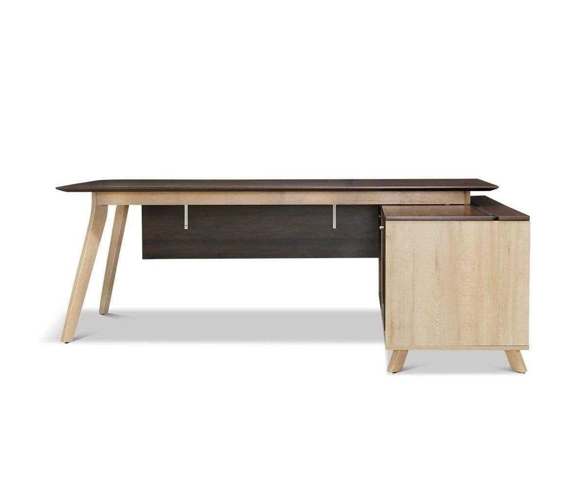 Thorsten Executive Desk In 2021 Scandinavian Design Desk Executive Desk Desk