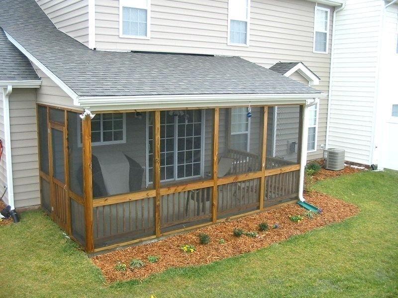 Diy screen porch image of screen porch kits plans