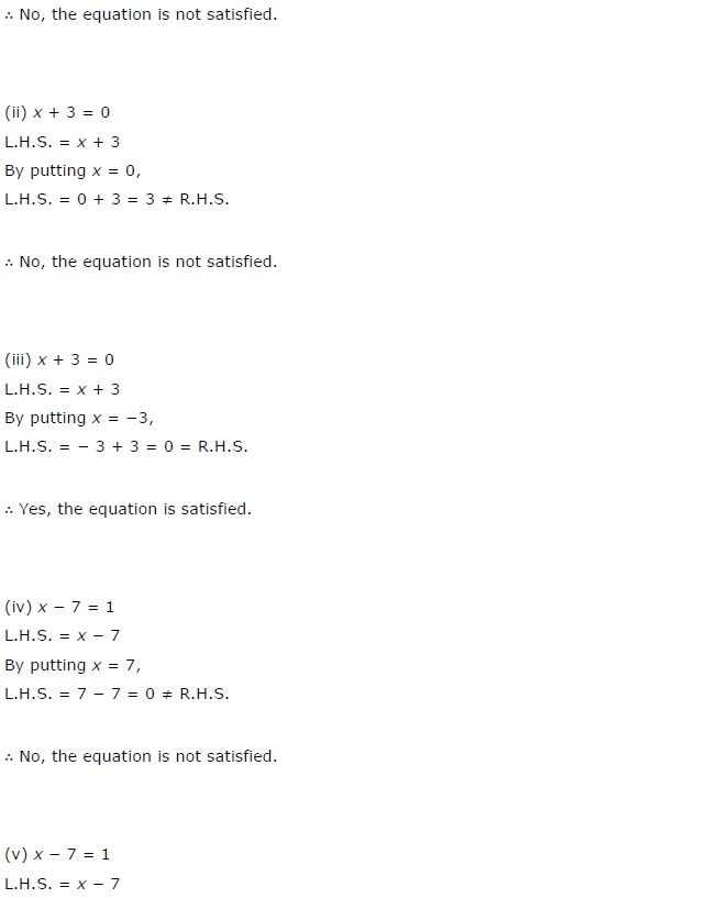 Ncert Solutions For Class 7 Maths Chapter 4 Simple Equations Exercise 4 1 Ncertsolutions Cbseclass7maths Ncertclass Maths Ncert Solutions Equations Math