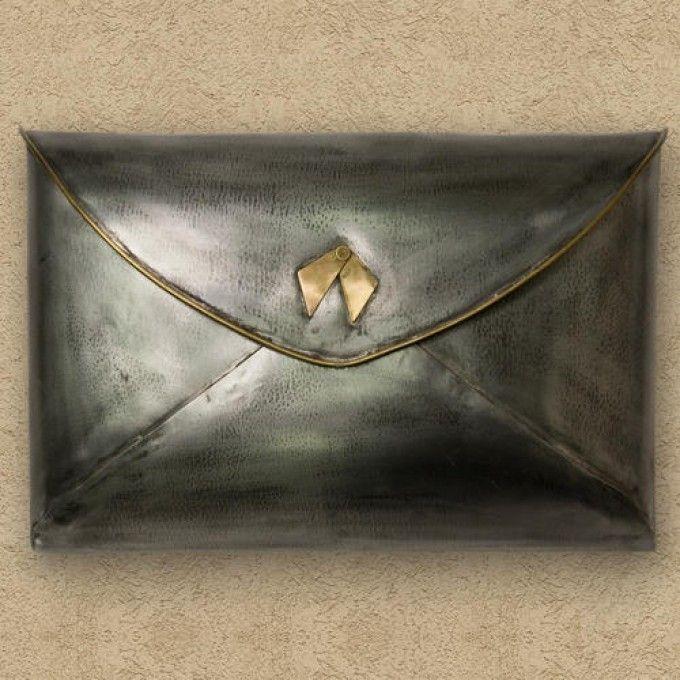 wall mount mailbox envelope. Envelope Wall Mount Mailbox - Antique Silver Wall Mount Mailbox Envelope W