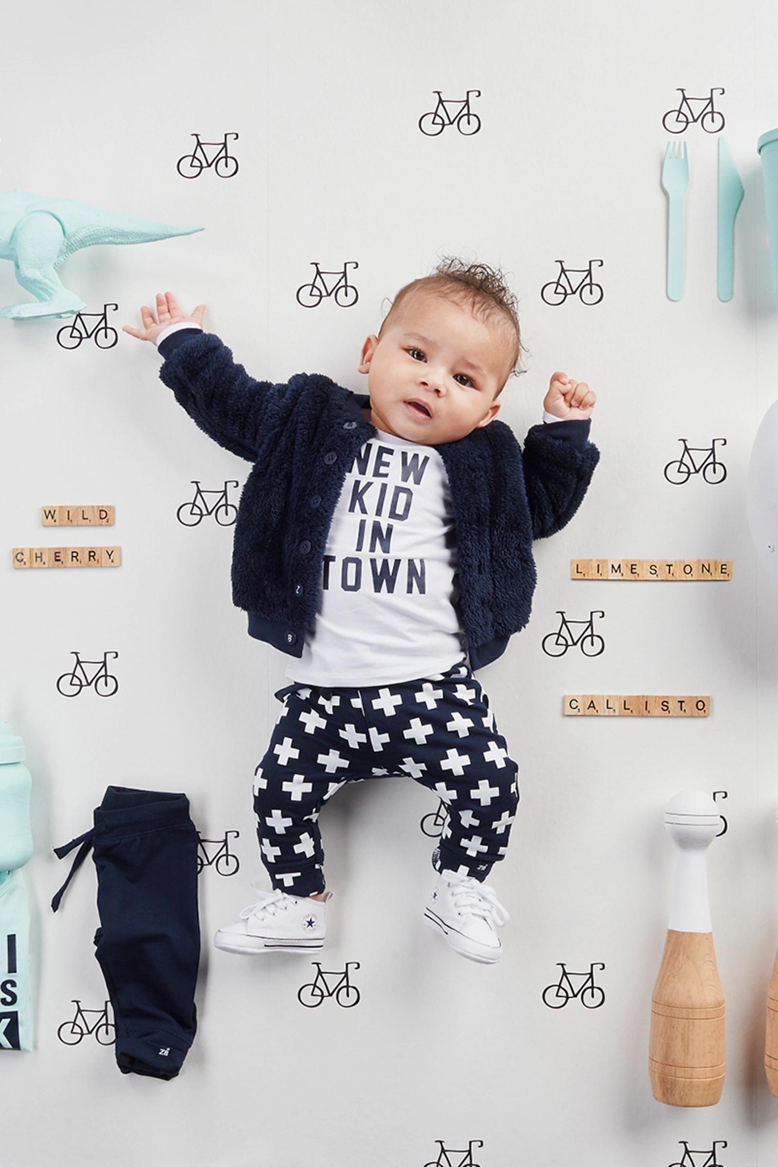 Stoere Babykleding Voor Meisjes.Dit Stoere Shirt Van Het Merk Z8 Is Eindeloos Te Combineren Met