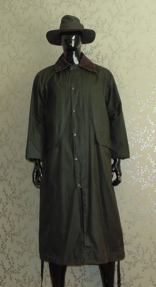 445b9fcf94ad4 BARBOUR Burghley Wax Jacket Riding Coat 42 Vintage Hunting Shooting Fishing
