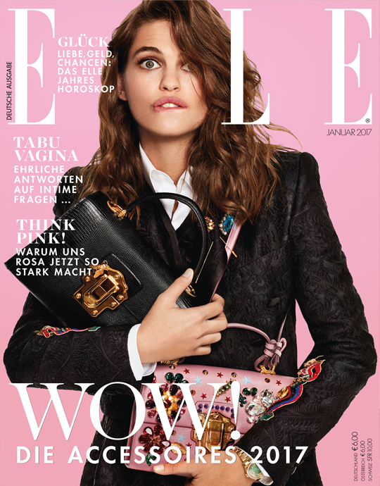 Aktuelle Ausgabe aktuelle ausgabe 01 2017 fashion cover
