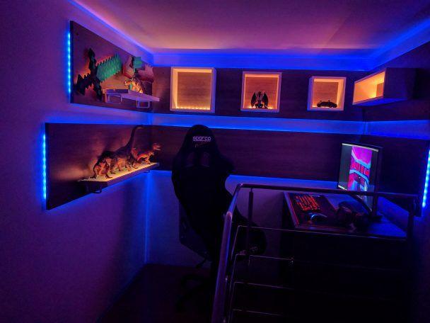 Gaming Room Ideas Girl Gaming Setup Novocom Top