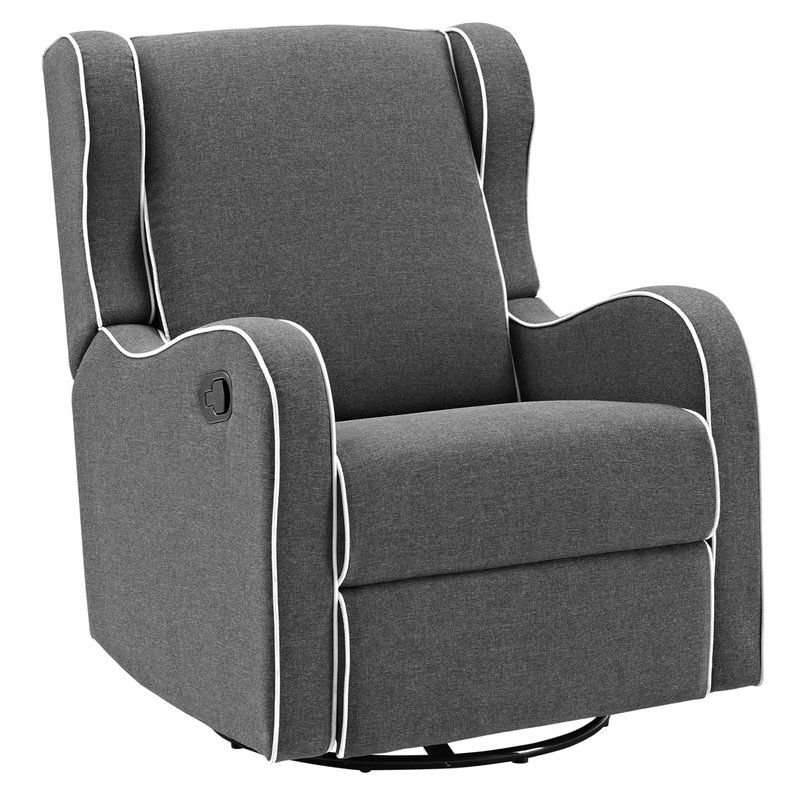 Rowe Upholstered Manual Reclining Glider Recliner Glider