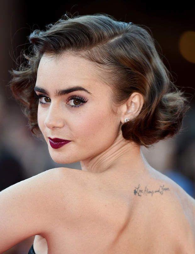 30 coiffures de fêtes faciles et glamour Coiffure courte