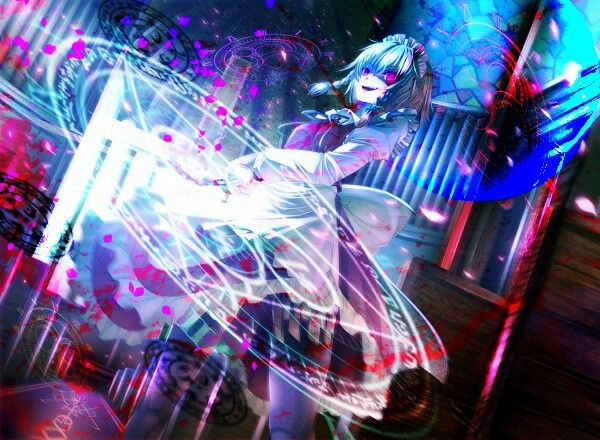 Sakuya's spellcard | Touhou