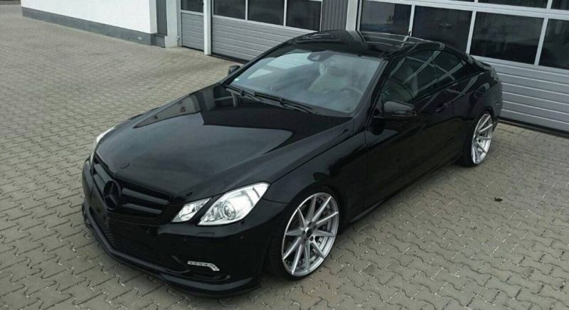 Edel Rfk Tuning Mercedes E Klasse Coupe Auf 20 Zoll