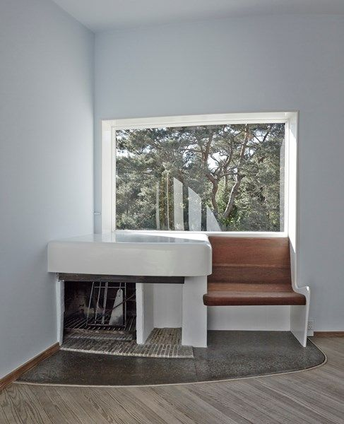 Arne Jacobsens eget sommerhus - modernisme - | Arne Jacobsen ...