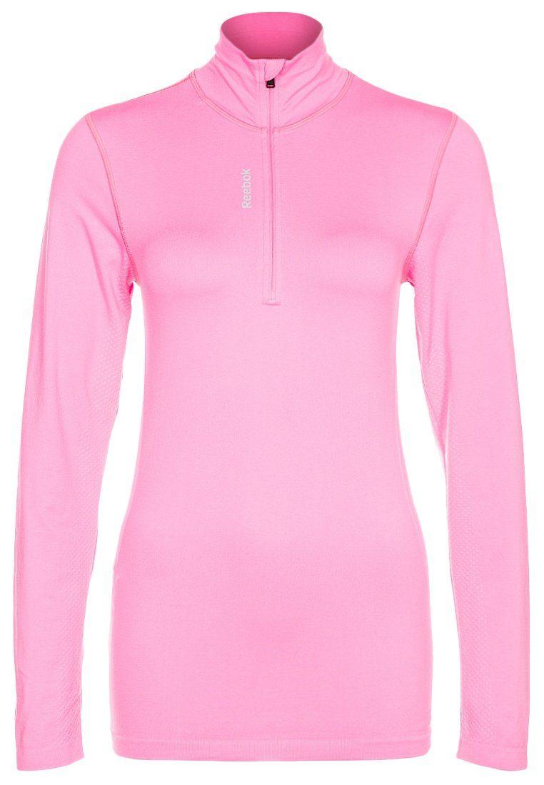 Reebok - Pitkähihainen paita - pinkki