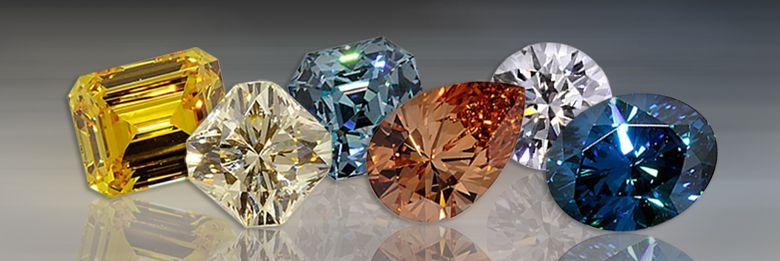 Six pretty cut gems