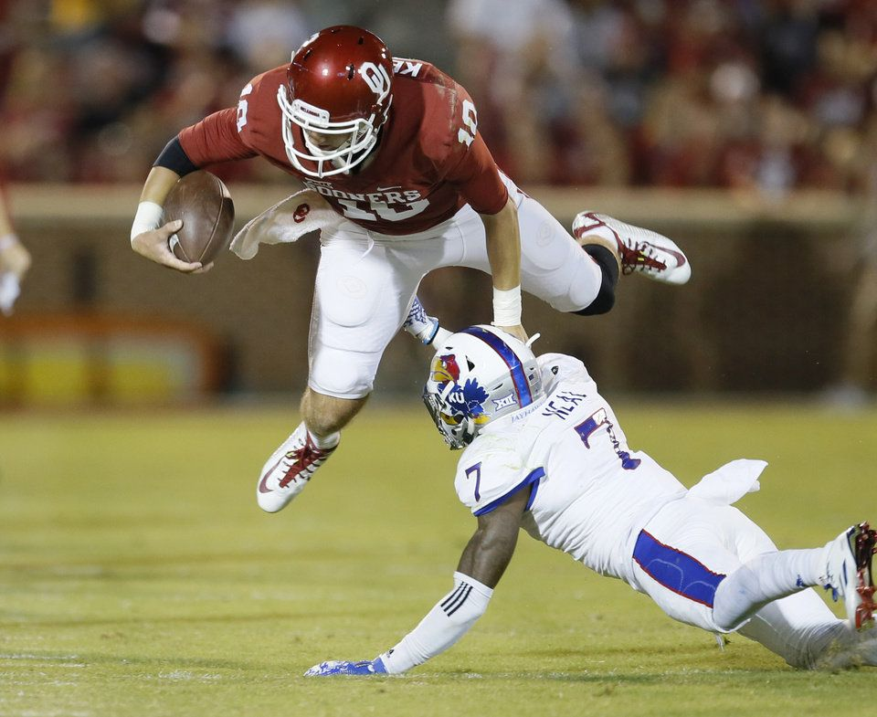OU vs Kansas - Photo Gallery | Oklahoma memorial, Kansas ...