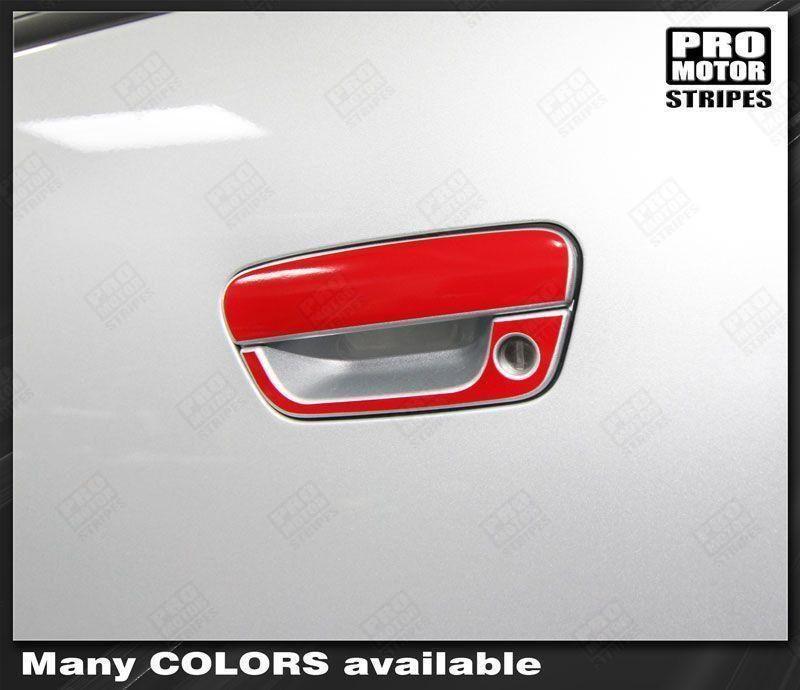 Chevrolet Spark 2013 2015 Door Handle Overlay Stripes Con Imagenes