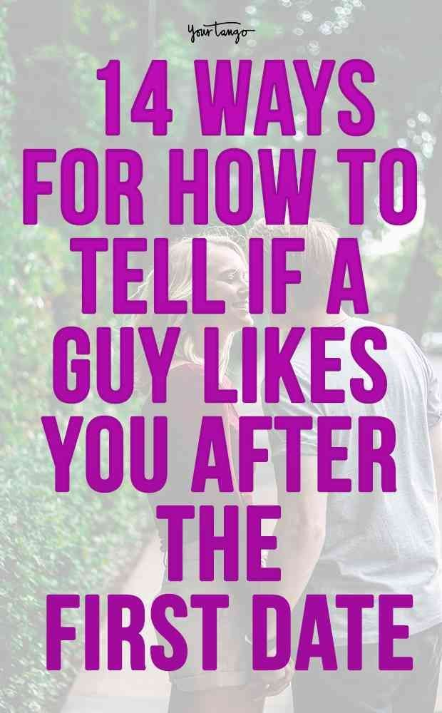 How to tell if someone your dating likes you