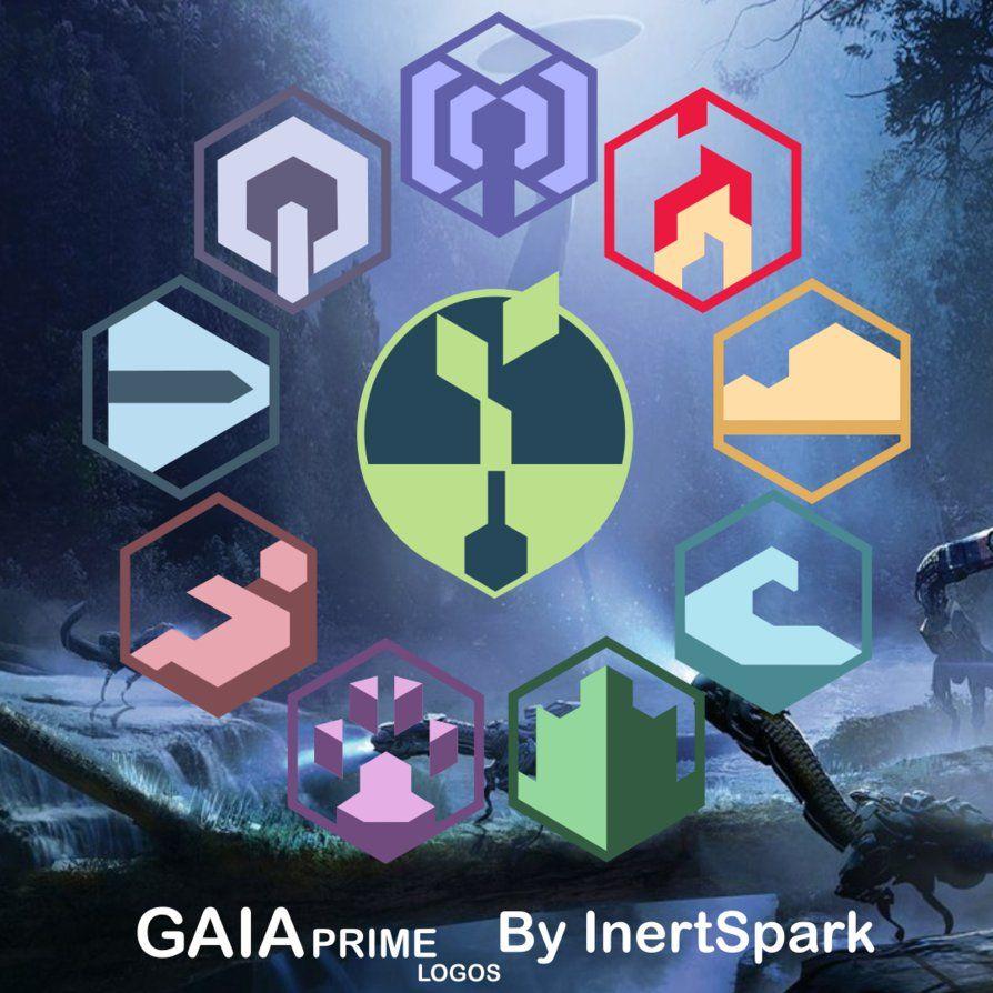 Horizon Zero Dawn - GAIA Prime Logos by inertSpark on DeviantArt