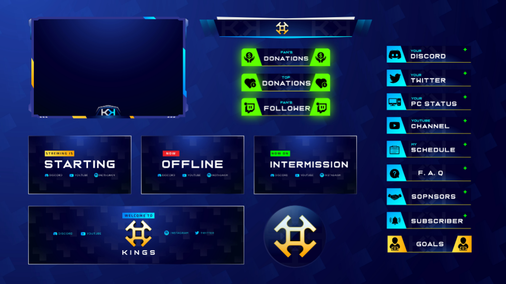 Pin By Ninja Graphic On Twitch Overlay Overlays Twitch Streaming