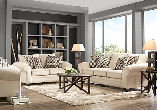 Best Shop For A Chesapeake Beige 7 Pc Living Room At Rooms To 400 x 300
