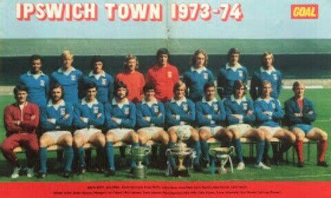 Ipswich Town team group in 1973-74