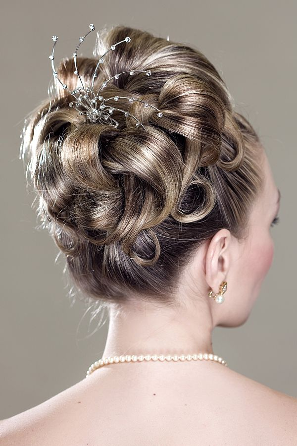 Greek hairdressing:  hair by Francois Academy