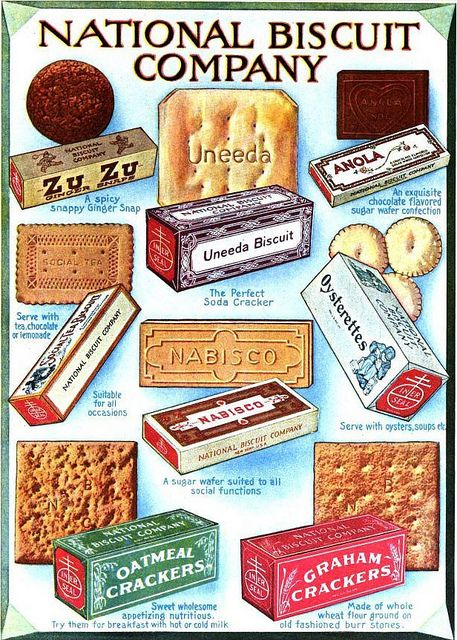 FOOD, CONFECTIONS: Nabisco 1919. Make a choice for the occasion.