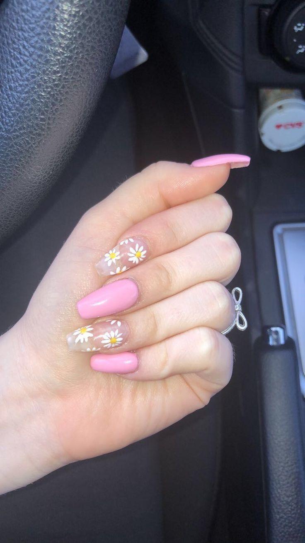 #sunflower nails  yasmine.pinboard